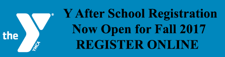 YMCA Y after school registration now open for fall 2017 register online