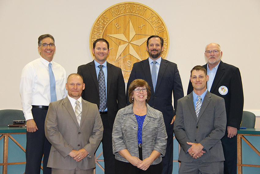 New Braunfels ISD Board of Trustees 2017-2018