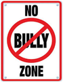 No Bully Zone Logo