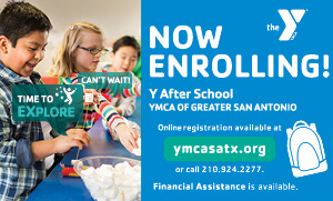 Now Enrolling Y After School YMCA of Greater San Antonio Online registration available at ymcasatx.org or call 210-924-2277. Financial Assistance available.