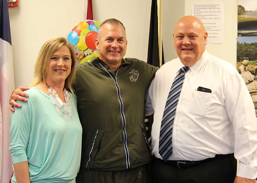 Lt. Col. Mark House, New Braunfels ISD 2017 Secondary Teacher of the Year