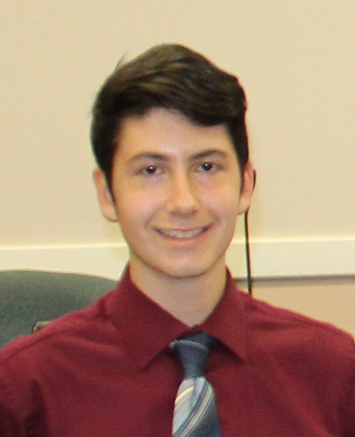 Steven Clark, 2017 National Merit Commended Student and National Hispanic Recognition Program Scholar from New Braunfels High