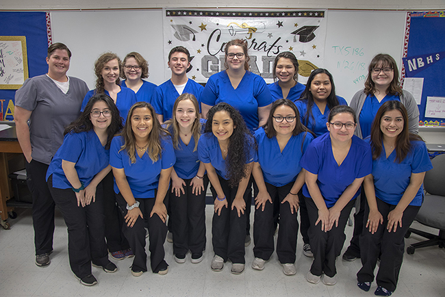 NBHS students work towards CNA certification