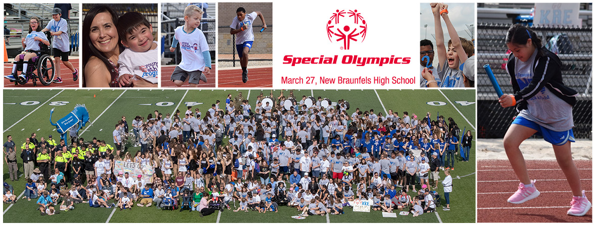 NBISD hosts Special Olympics Track & Field event on March 27, 2019 at Unicorn Stadium