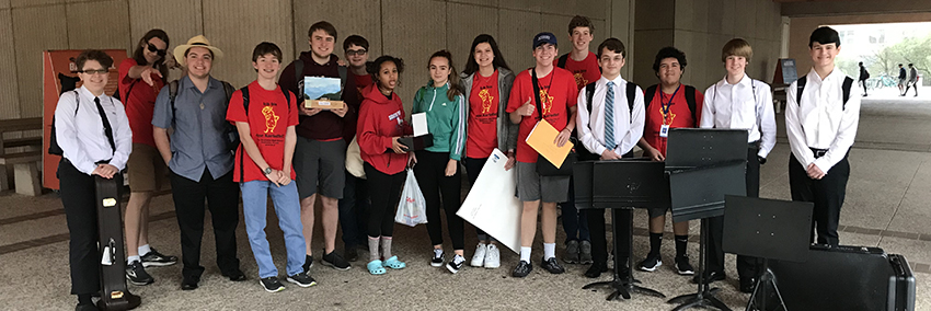 Students in the German classes at New Braunfels High School participated in the annual Sprachfest competition held at The University of Texas at San Antonio on Feb. 2.