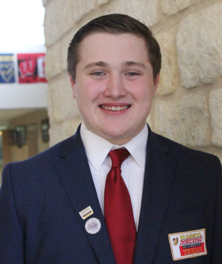 John Christian Archer from New Braunfels High School was elected the 2019 BPA Regional President for Area 3, Region 3