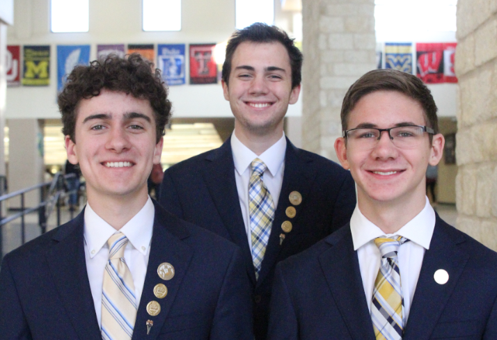 BPA Computer Animation Team from New Braunfels High School comprised of Nathan Downey, Jordon Stewart and Jackson Lichlyte