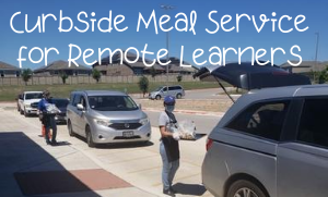 Curbside Meal Service for remote Learners