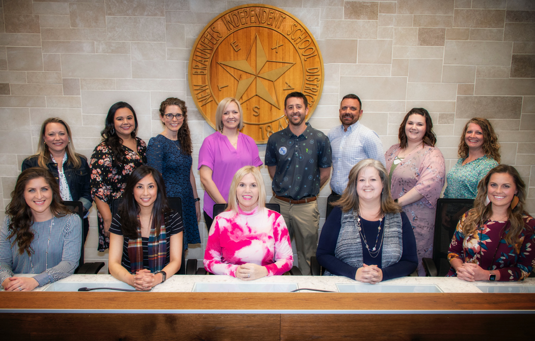 New Braunfels ISD Campus Teachers of the Year 2020 group photo