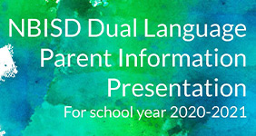 Dual Language Parent Information Meeting Presentation for 2020-21