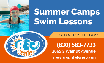 Rec Center Summer Camps Swim Lessons, sign up today! 830-583-7733. 2065 S Walnut Avenue, mewbraunfelsrec.com