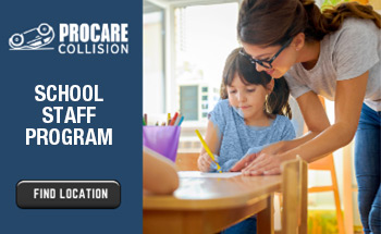 ProCare Collision School Staff Program. Find location.