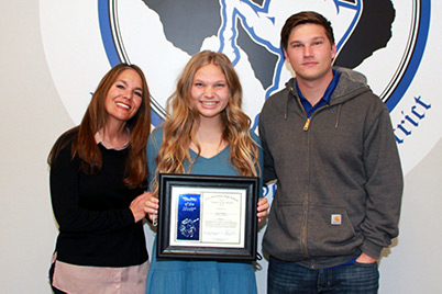 New Braunfels High School Student of the Month, January 2021: Dana Hanson