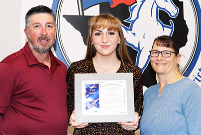 New Braunfels High School Student of the Month, March 2021: Anna Sonnier