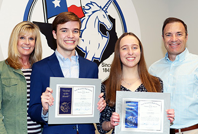 New Braunfels High School Student of the Month, April 2021: Jack Meehan